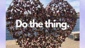 """Do the Thing"" – what got Michelle Marie out of her head and into action in St. Louis, Missouri"